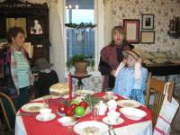 People inside the Carry Nation Home