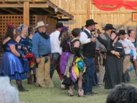 Carrie in action
