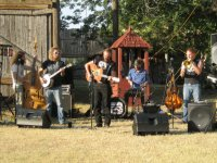 Carrie Nation and the Speakeasy band