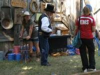 Buddy Williams and visitors