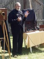 Alexander Gardner talking about his camera
