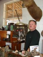 Some Stockade Museum exhibits