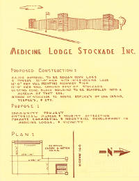 Fundraising flyer for original construction