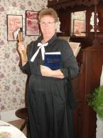 Carry Nation impersonator