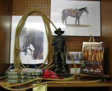 Earl Kuhn horse prints and bank robbery book