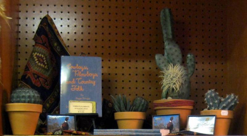 Cacti and cowboy poetry book