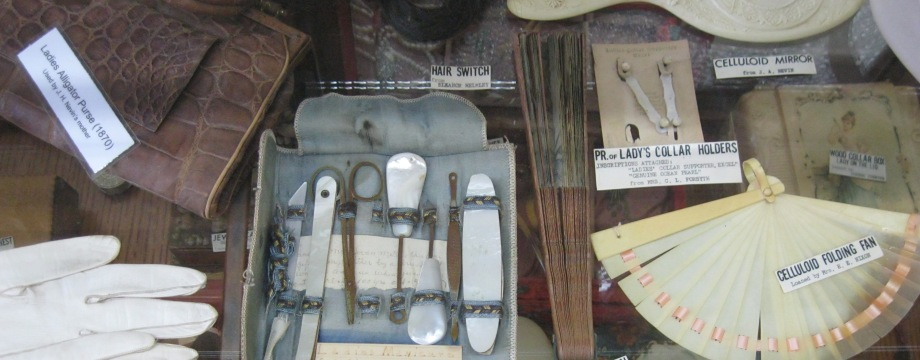 assortment of ladies' personal items
