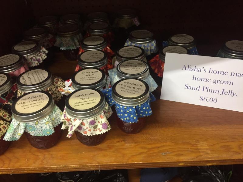 jars of jelly