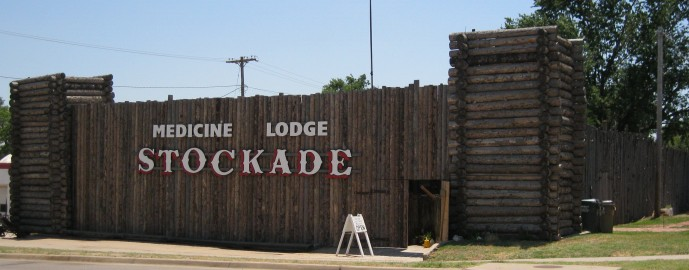 stockade front and west side